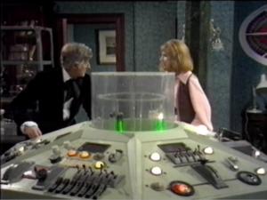 Doctor, Liz, TARDIS Console